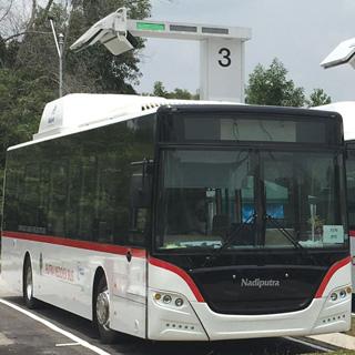 10分で大型バスが充電完了!超急速充電が都市交通網を変える