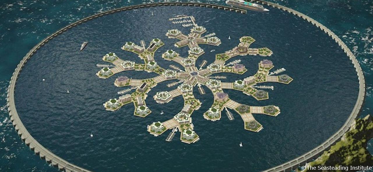 現在の地球に適している!夢の海上都市計画を支えるエネルギー創出法
