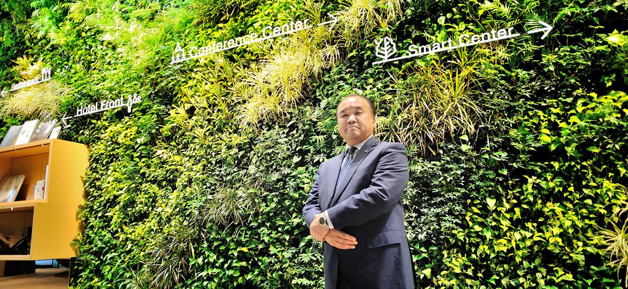 日本初のエネルギー管理システム『柏の葉AEMS』