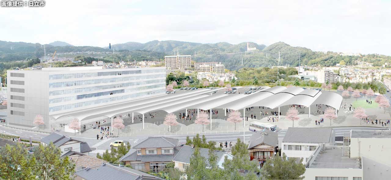 震災復興の総仕上げを飾る日立市新庁舎と池の川さくらアリーナ