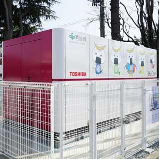 球界初! CO<sub>2</sub>フリー発電システムが楽天イーグルス本拠地の宮城で運用開始