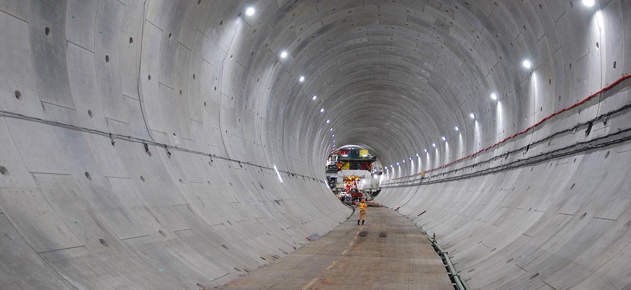 外環全通を目指して!日本最大規模の道路トンネル工事が着工中