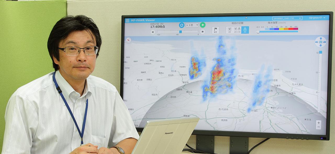 3年で予測スピードが1/10に!ゲリラ豪雨研究の最前線