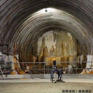トンネル工事で何するの? 鹿島建設×四足歩行ロボット「Spot」が建設現場にもたらす革新