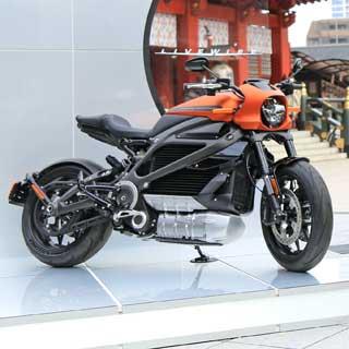 電動バイクの黒船襲来! ハーレーダビッドソン初の電動スポーツバイクが日本上陸