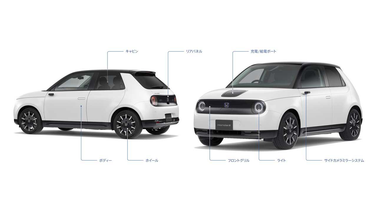シームレスに人の暮らしとつながる電気自動車! ホンダが「Honda e」で描く少し先の未来