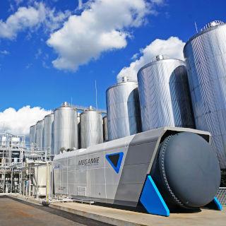 工場排水の新たな使い道!? アサヒビール茨城工場で実証事業が進むバイオガスによる燃料電池発電