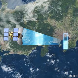 災害の前後比較と予測に「ASNARO-2」が活躍! NECの人工衛星活用術